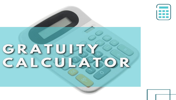 Gratuity Calculator