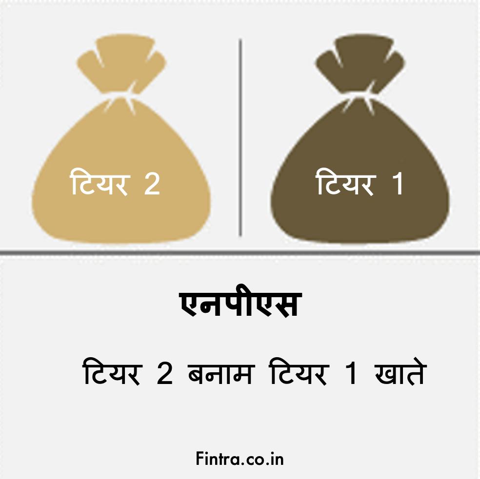 Tier-2 Tier 1 NPS Accounts hindi