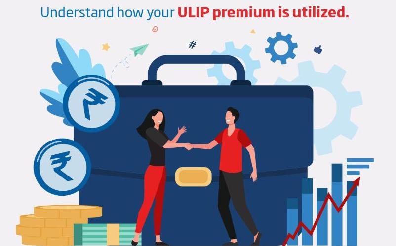 Understand how ULIP premium is utilized