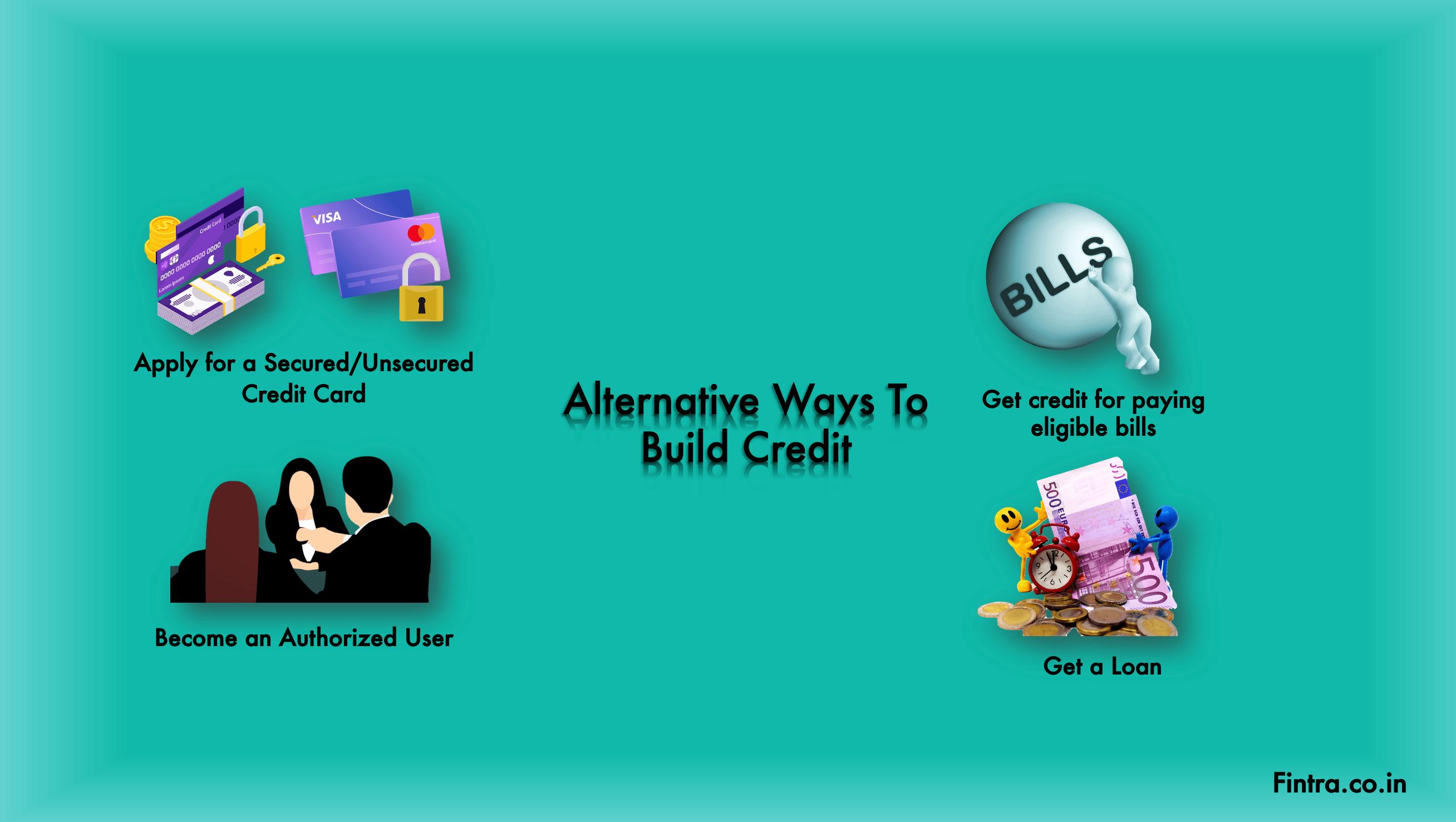 Alternative Ways To Build Credit
