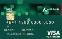 एक्सिस बैंक न्यो क्रेडिट कार्ड