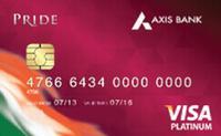 Axis Bank Pride Platinum Credit Card
