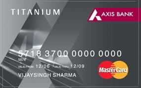Axis Bank Titanium Smart Traveler Credit Card