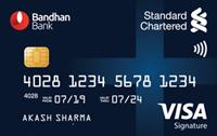 Bandhan Bank Standard Chartered credit cards