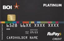 BOI International Credit Card
