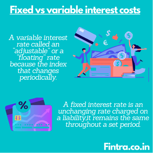 Fixed vs Variable Interest Costs