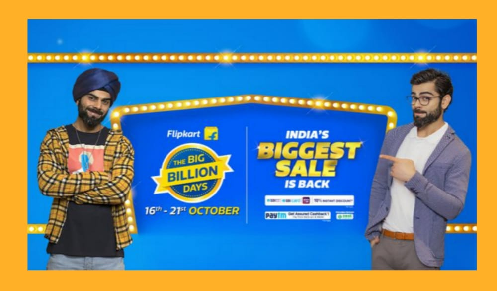 Credit Card Offers for Flipkart Big Billion Sale 2020