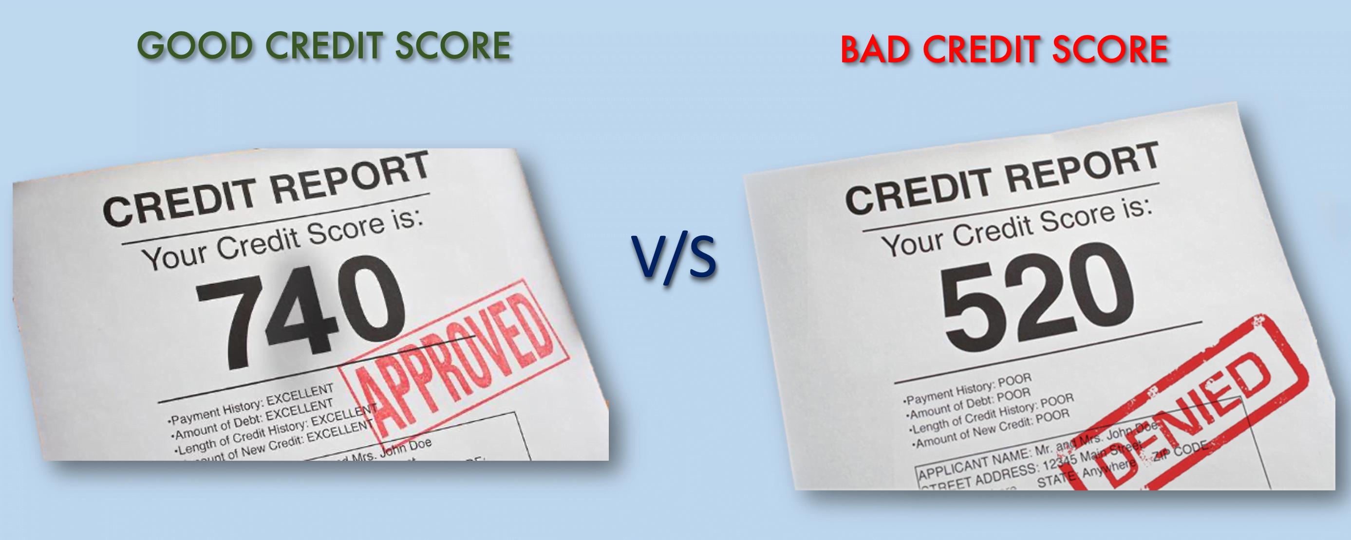 Good Score VS Bad Score