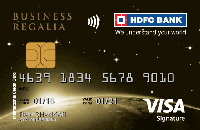 HDFC Business Regalia Credit Card