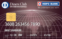 HDFC Diners Club Premium Credit Card