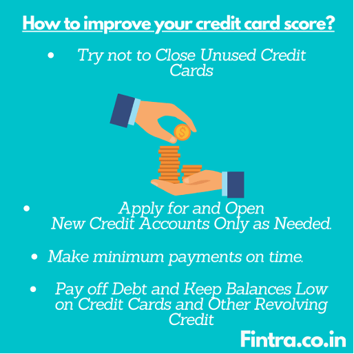 How to Improve Credit Card Score