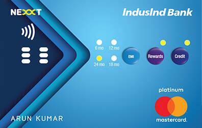Induslnd Bank Nexxt Credit Card