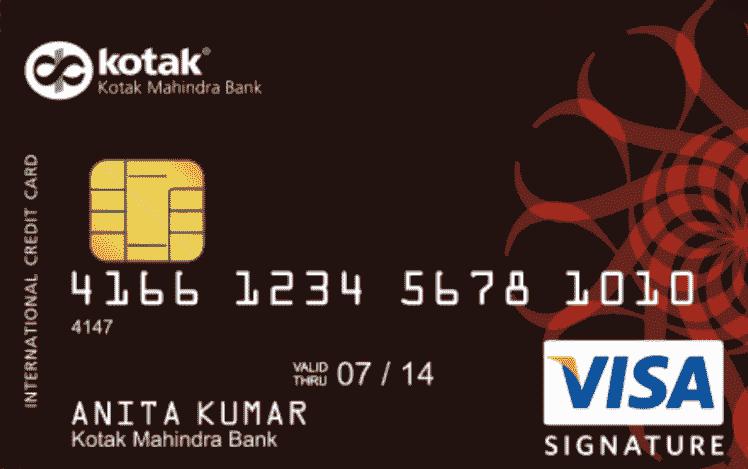Kotak Corporate Wealth Signature Credit Card