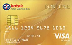 Kotak Fortune Gold Credit Card