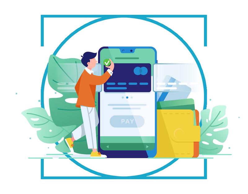 online debit card payment