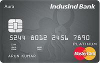 Platinum Aura Visa and Mastercard Credit Card