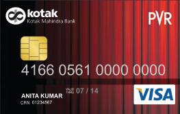 PVR Kotak Gold Credit Card