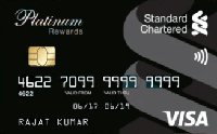 Standard Chartered Platinum Credit Card
