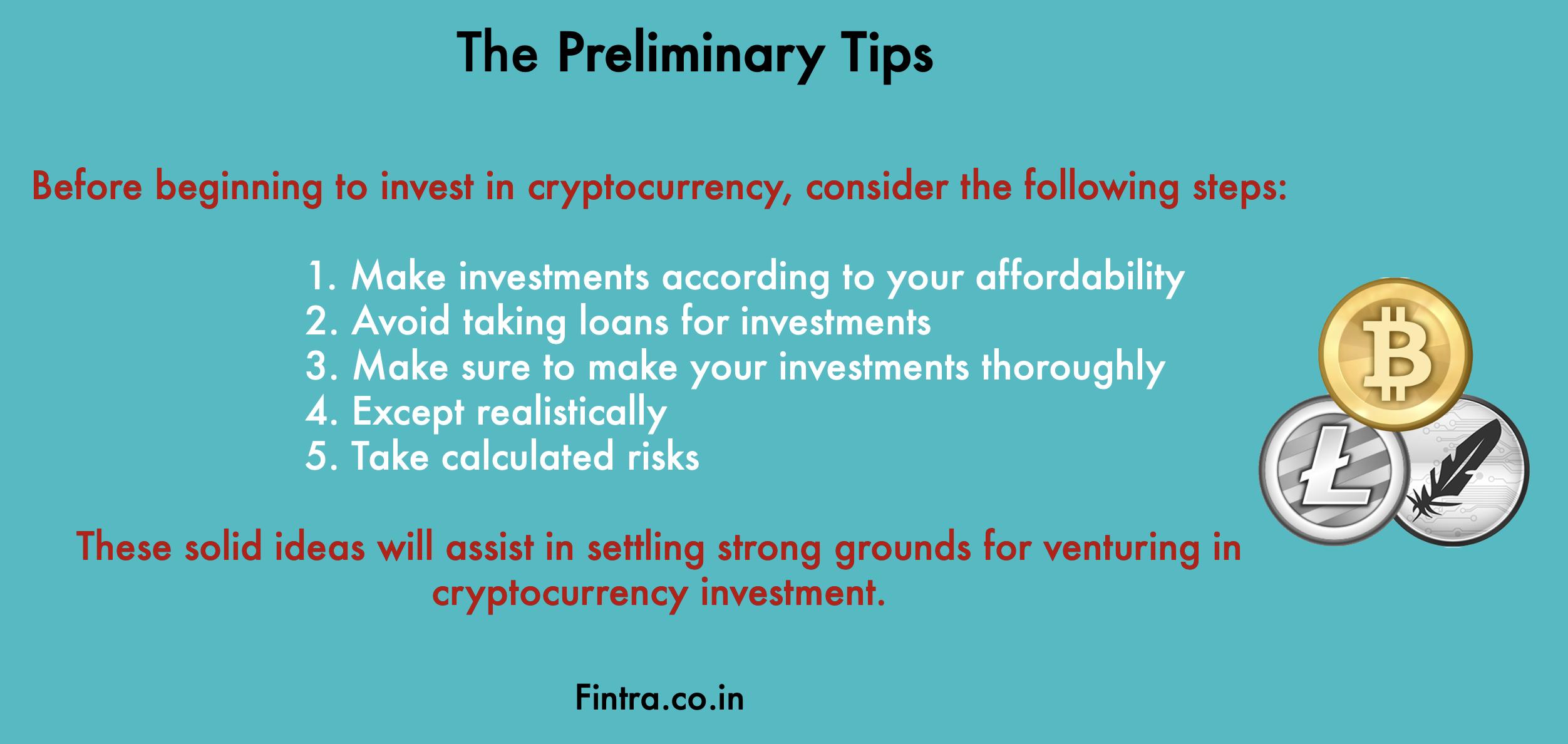 the preliminary tips