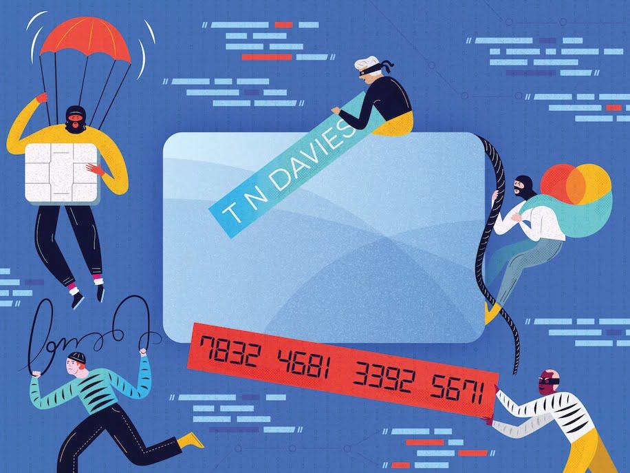 Various Ways Credit Data Stolen