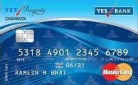 YES Prosperity Cashback Credit Card